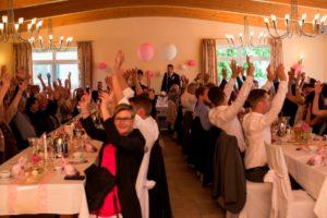 partyand für Hochzeit