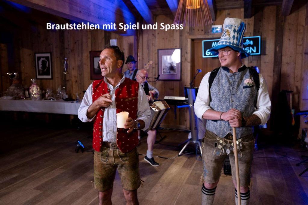 Brautentführung Brautstehlen - Zum Wein